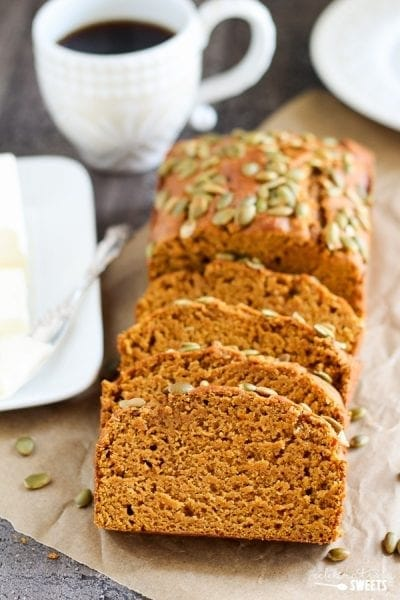 Pumpkin Bread - Celebrating Sweets