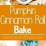 Perfect Pumpkin Cinnamon Roll Breakfast for Fall!