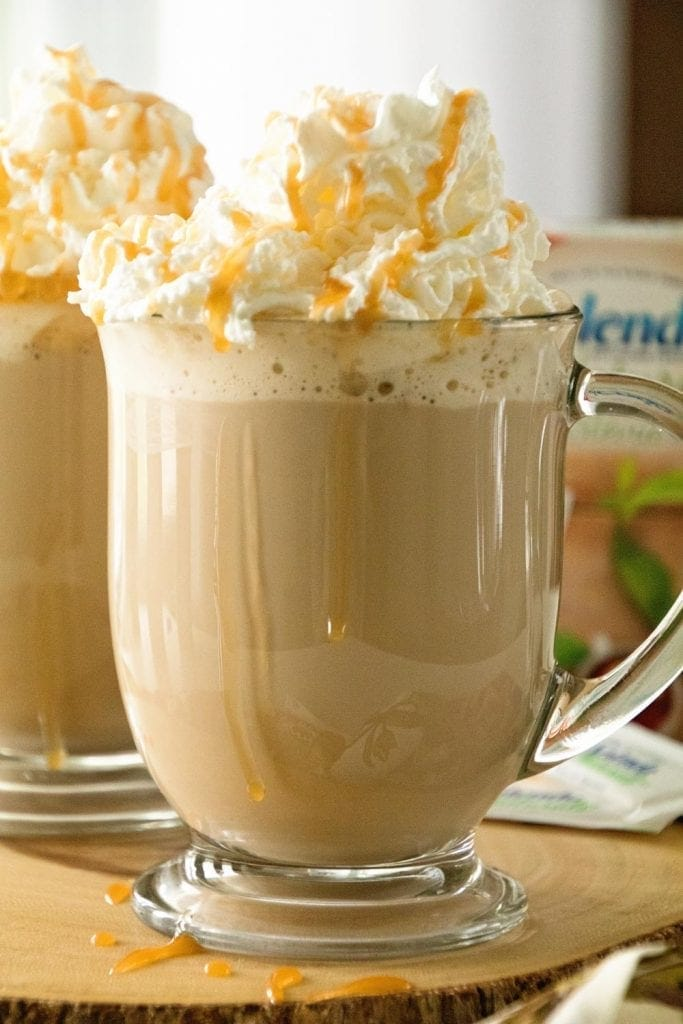 Homemade Caramel Latte Recipe ~ Delicious, Easy, Homemade Caramel Latte Recipe that Will Have You Sipping Lattes Whenever You Want!