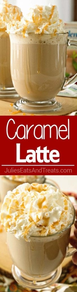 Make a Delicious Caramel Latte at Home!