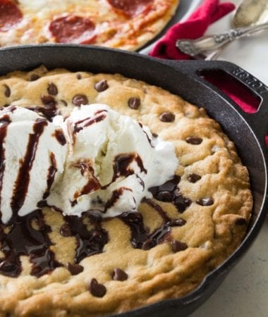 Chocolate Chip Skillet Cookie Recipe + A Day At the Minnesota State Fair