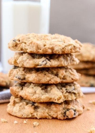 Best oatmeal, coconut and raisins cookies recipe
