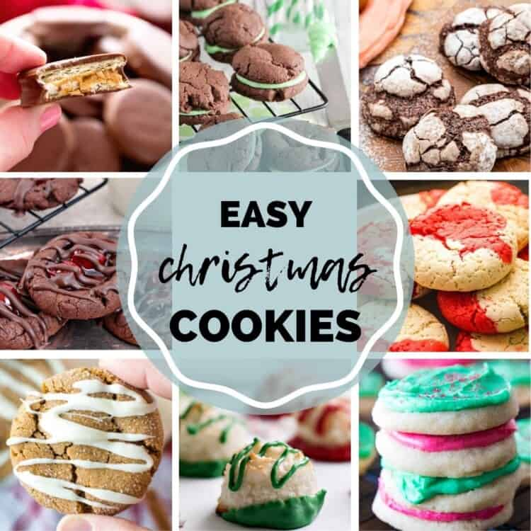 Christmas cookie Recipes square