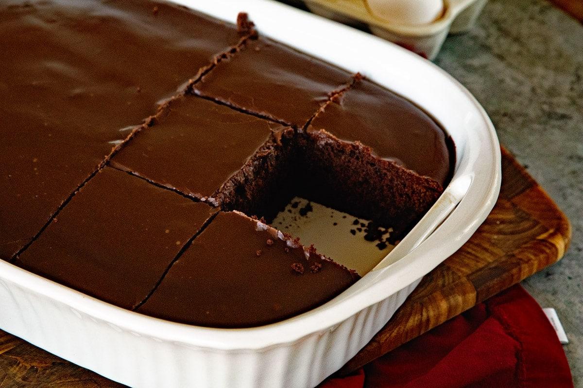 Rich Chocolate Cake From Scratch