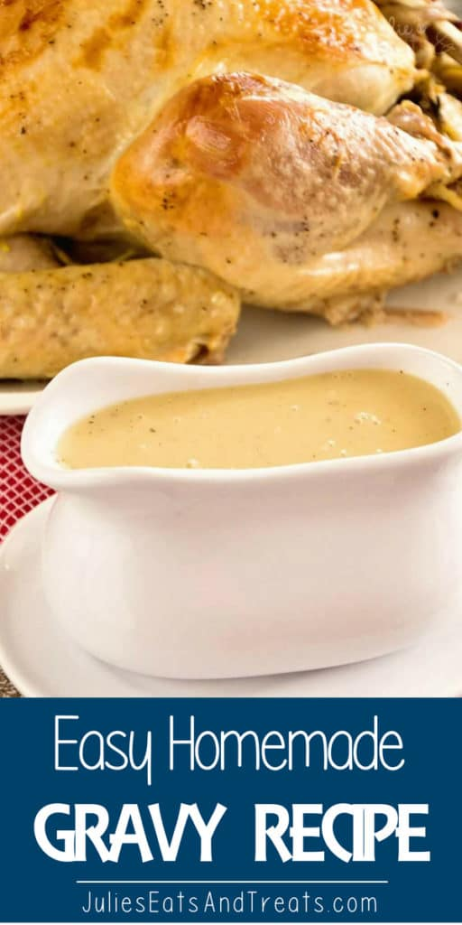 Simple way to make homemade gravy from turkey