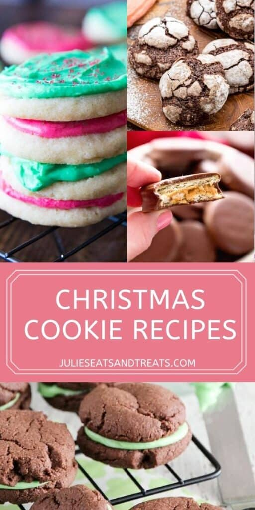 Easy Christmas Cookie Pinterest Image