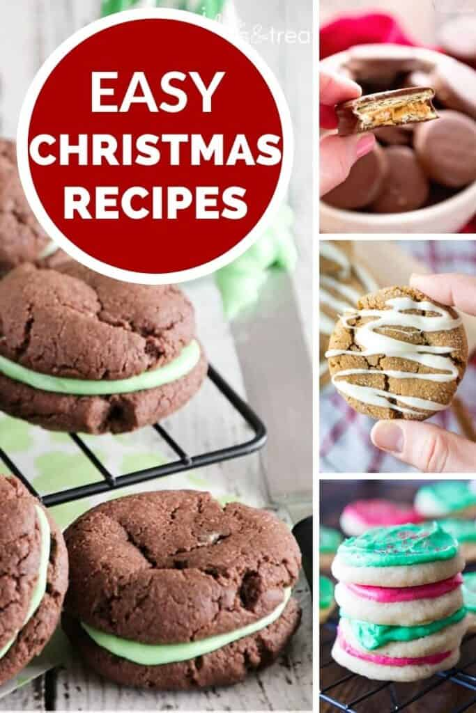 easy christmas cookie recipes Pinterest