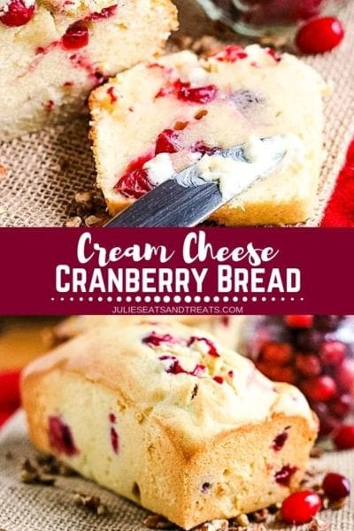Cranberry Bread Pinterest Image