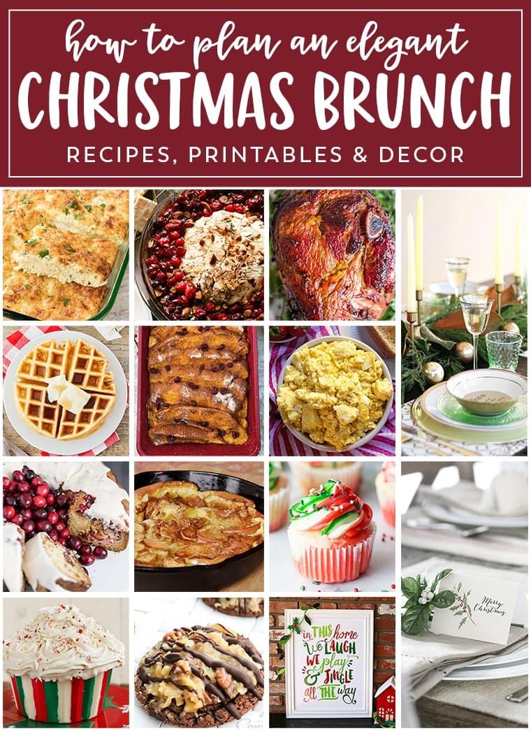 Christmas Brunch Menu.Easy Christmas Brunch Meal Plan Julie S Eats Treats