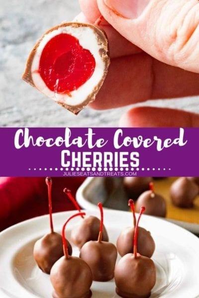 Chocolate Covered Cherries Pinterest Image