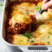 Easy Ravioli Lasagna is perfect for a busy weeknight meal