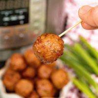 grape jelly meatballs in pressure cooker