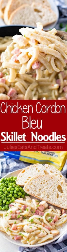 Chicken Cordon Bleu Pasta Recipe