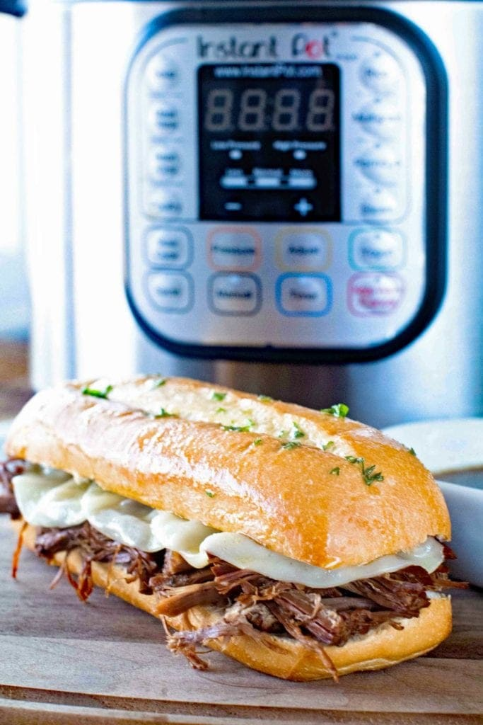 French Dip Sandwich Pressure Cooker