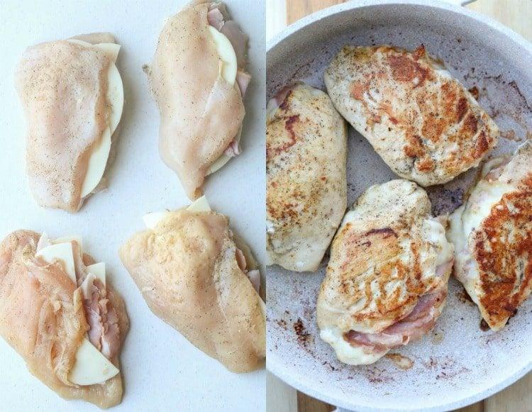 Steps to making stuffed chicken breast recipe