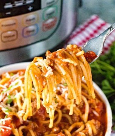 Pressure Cooker Spaghetti Recipe