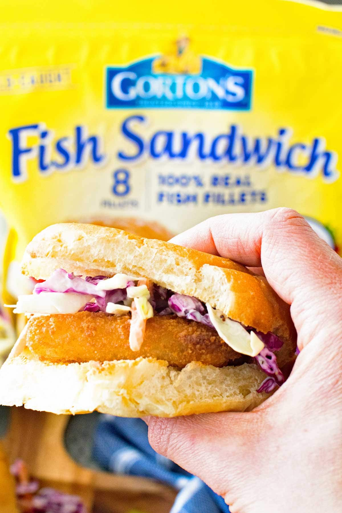 Fish Sandwich Hold Gortons