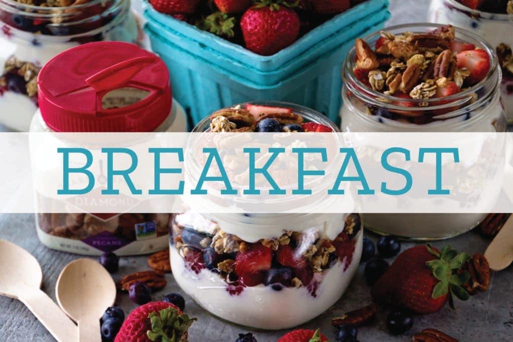 Breakfast Overlay on Breakfast Parfait