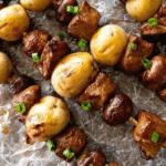 Steak & Potato Recipe Pinterest Collage