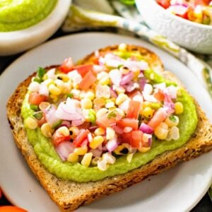 Avocado Toast with Grilled Corn Salsa