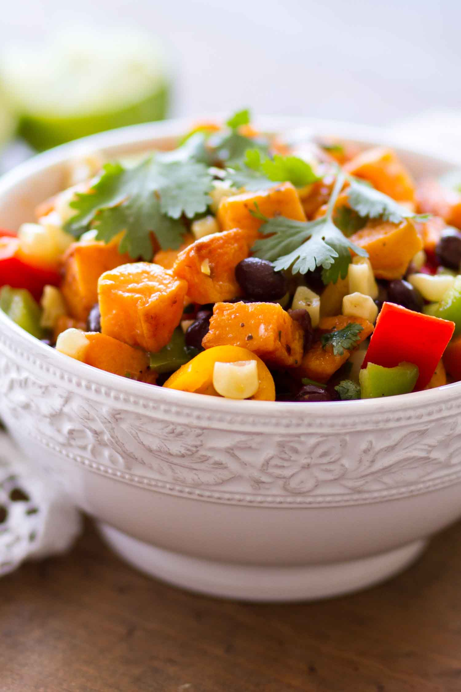 Bowl of Sweet Potato Salad