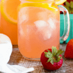 Spiked Strawberry Lemonade Pinterest Collage