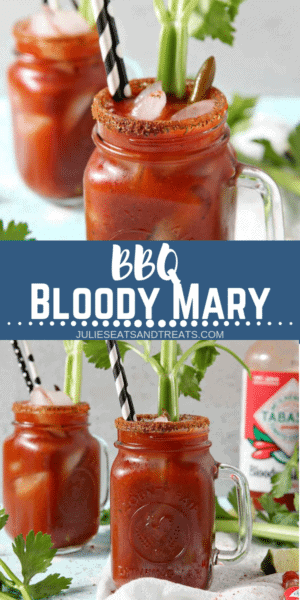 Bloody Mary Recipe Pinterest image
