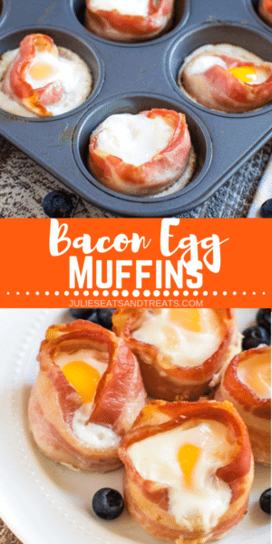 Bacon Egg Muffins Pinterest Colllage