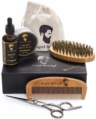 Beard Grooming & Trimming Kit Gifts for Men