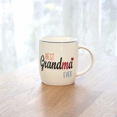Best Grandma Ever Coffee Mug 13 oz Gifts for Grandma