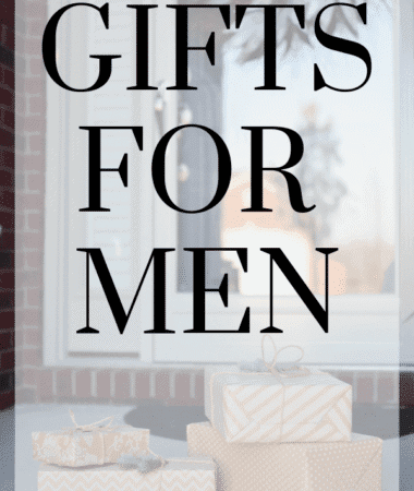 Gifts for Men Pinterest Image