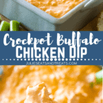 Buffalo Chicken Dip Pinterest Image