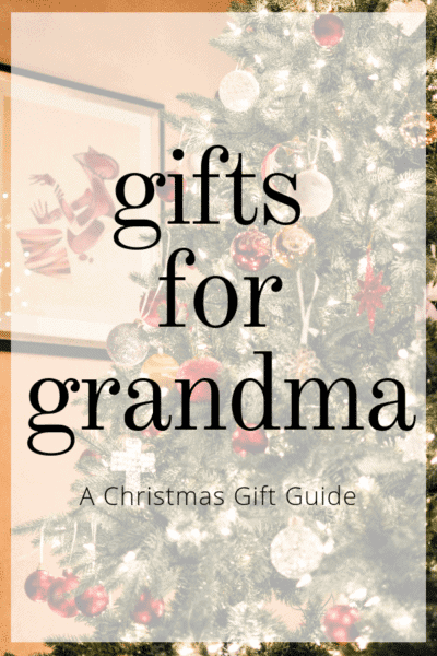 Gifts for Grandma Pinterest Image Gifts for Her Gifts for Women