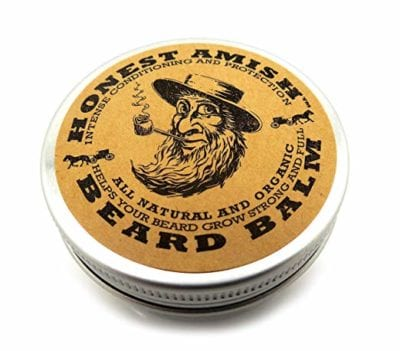 Honest Amish Beard Balm Leave-in Conditioner Stocking Stuffers for Men