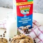 Horizon Organic Milk with cookies