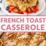 Pin Collage for Baked French Toast Casserole