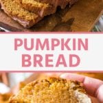 pumpkin bread recipe Pins