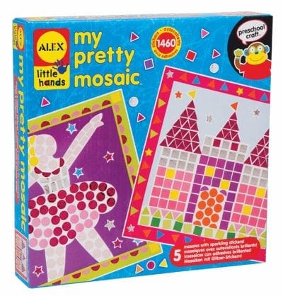 ALEX Toys Little Hands My Pretty Mosaic Gifts for Kids