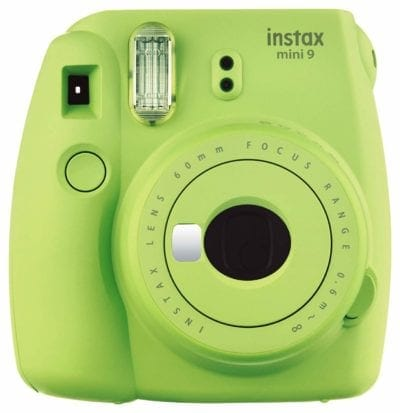 Fujifilm Instax Mini 9 Instant Camera - Lime Green Gifts for Girls