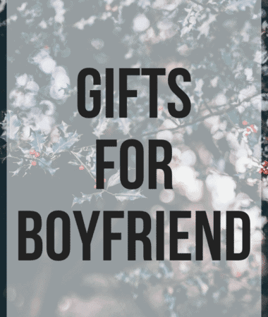Gifts for Boyfriend Pinterest Image
