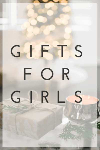 Gifts for Girls Pinterest Image