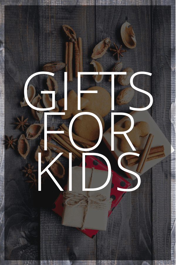 Gifts for Kids Pinterest Image