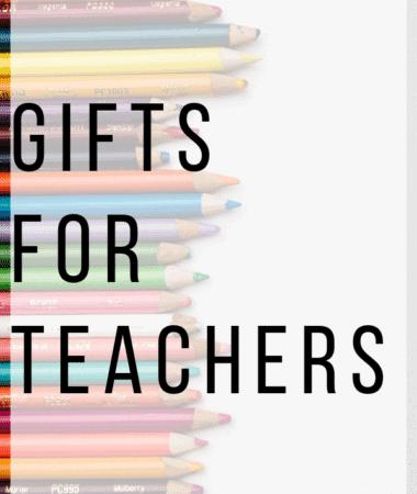 Gifts for Teachers Pinterest Image