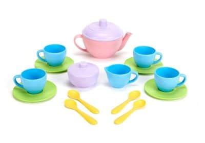 Green Toys Tea Set Gifts for Kids