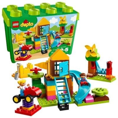 LEGO Duplo Large Playground Brick Box Gifts for Kids