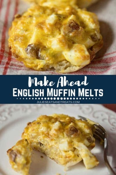 Make Ahead English Muffin Melts Pinterest
