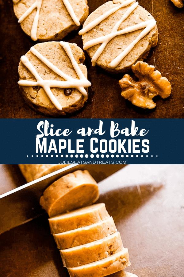 Maple Cookies Pinterest Image