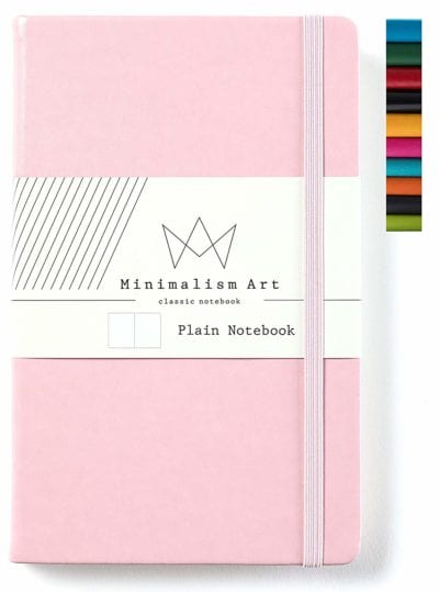 Minimalism Art Classic Notebook Journal Gifts for Girls