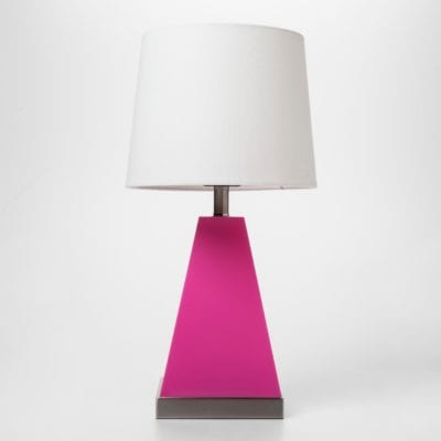 Pillowfort Triangle Light Up Table Lamp Gifts for Girls