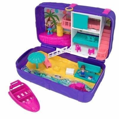 Polly Pocket Hidden in Plain Sight Beach Vibes Backpack Gifts for Kids